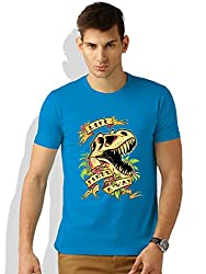 Life finds a way Turquoise T-shirt