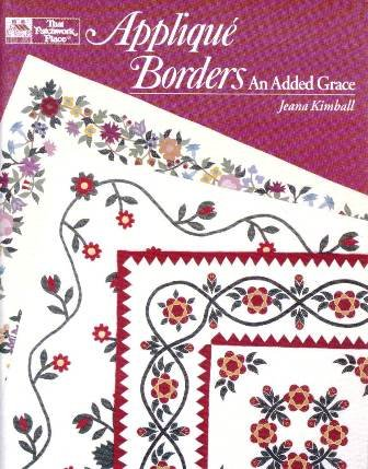 Applique Borders: An Added Grace, Jeana Kimball