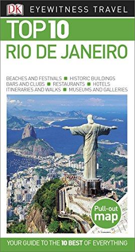 Top 10 Rio de Janeiro (Dk Eyewitness Top 10 Travel Guides Rio De Janeiro)