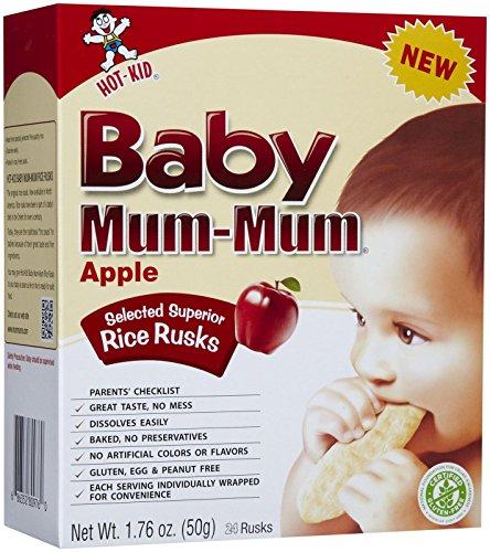 Mum Mum Rice Biscuits - Apple - 1.76 oz (Mum Baby Food compare prices)