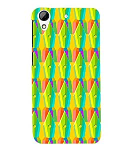 printtech Pen Pattern Back Case Cover for HTC Desire 728::HTC Desire 728G