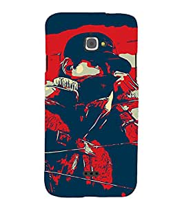 Man Abstract 3D Hard Polycarbonate Designer Back Case Cover for InFocus Bingo 50