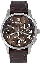 Victorinox Swiss Army Men's 241297 Alliance Brown Dial Watch