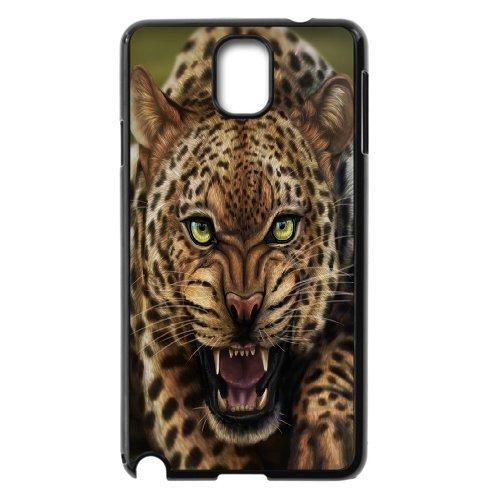 Samsung Galaxy Note 3 N9000 The Ferocious Cheetah Phone Back Case Personalized Art Print Design Hard Shell Protection Aq076386