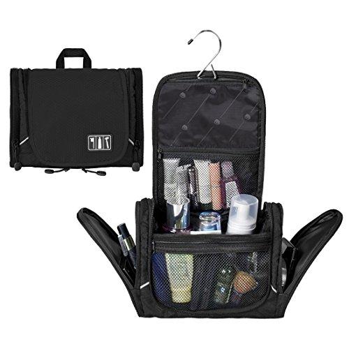 (バッグ・マート)Bags-mart バスルームポーチ フック付き 化粧ポーチ 洗面用具 小物入れ トラベルポーチ 出張 海外旅行グッズ ギフト