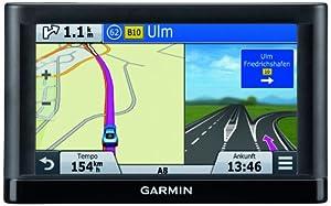 Garmin nüvi 66LMT Premium Traffic Navigationsgerät (15,4 cm (6 Zoll) Touchscreen, CN Kartenmaterial für Gesamteuropa, TMC Pro)