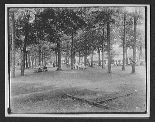 Photo: Picnic Tables,City Park,Hotel Detroit,New Zealand,1895,William Henry Jackson (Hotel Park City compare prices)