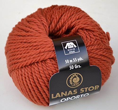 lanas-stop-oporto-fb-740-kastanie-80-wolle-merino-superwash-20-alpaka-superweiche-wolle-zum-stricken