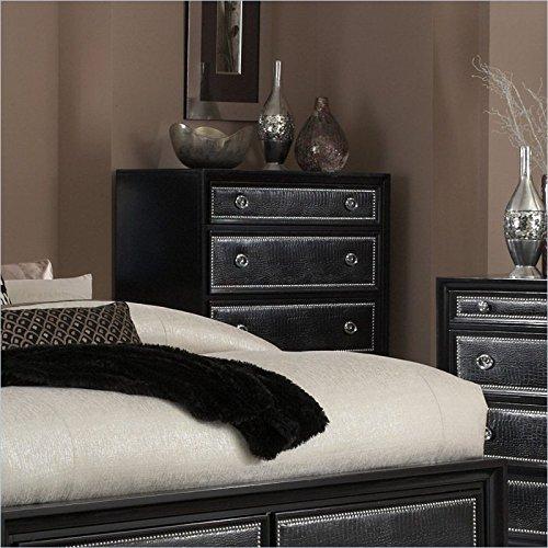 Black Bureau Dresser front-594335