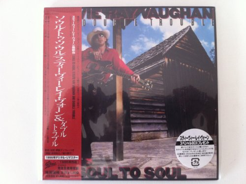Soul To Soul [Japanese papersleeve CD] by Stevie Ray Vaughan