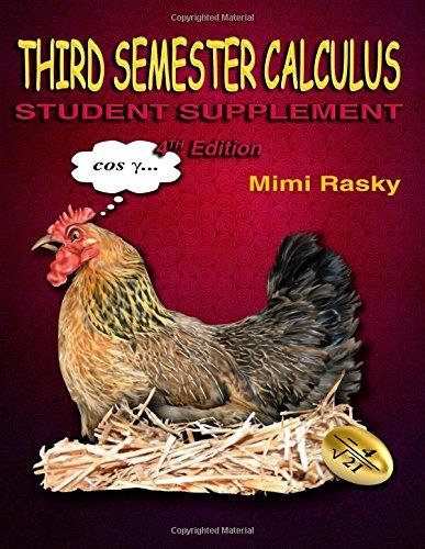 Third Semester Calculus: Student Supplement