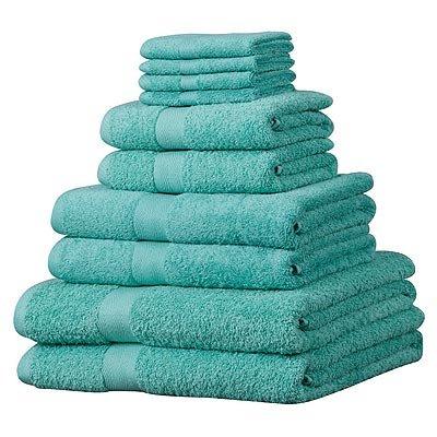 luxor-set-asciugamani-in-cotone-egiziano-100-10-pezzi-giada