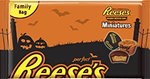 Reese's Cup Miniatures, Peanut Butter, 18.5-Ounce (Pack of 3)
