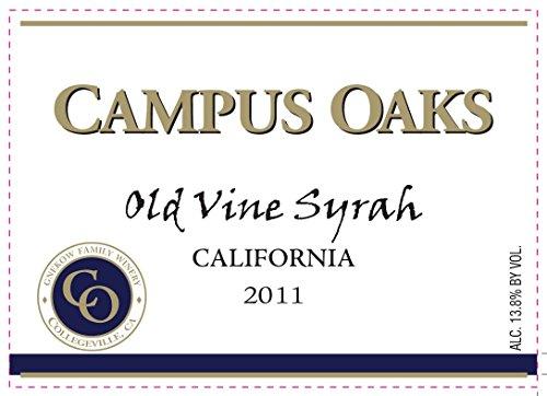 2011 Gnekow Family Winery Campus Oaks Syrah 750 Ml