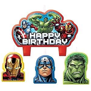 Amscan Avengers Assemble Birthday Candle Set