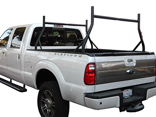 9sparts® Universal Adjustable Pair Heavy Duty Truck Ladder Rack Contractor Lamber Cargo Bed Rack (Heavy Duty Trucks compare prices)