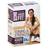 Forever Fit by Denise Austin, Ankle/Wrist Weights, Toning & Strength, 2.5 lb Each 2 weights