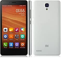 "Xiaomi RedMi Note 4G LTE - Smartphone libre Android (pantalla 5.5"", cámara 13 Mp, 8 GB, Quad-Core 1.2 GHz, 1 GB RAM), blanco"