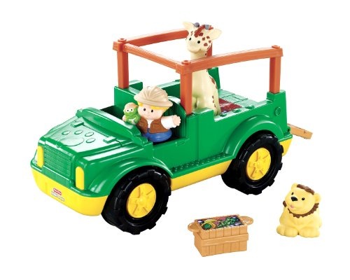 Fisher Price Little People Zoo Talkers Animal Sounds Safari Truck Overview Buy Product Review B