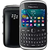 UNLOCKED SIM FREE Blackberry 9320 Curve GSM Quad-Band Smartphone with 3.2 MP Camera, Wi-Fi, GPS, FM Radio, NEW, BULK PACKAGED, 2G GSM 850/900/1800/1900MHZ, 3G UMTS 2100/1900/850/800MHZ