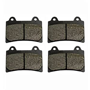 Front Carbon Kevlar Brake Pads - 1998 Yamaha XVZ 1300 Royal Star Tour Deluxe