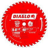 Freud D0840X Diablo 8-1/4-Inch 40 Tooth ATB Finishing Saw Blade with 5/8-Inch Arbor