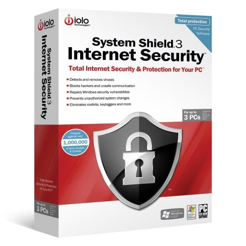 System Shield 3 Internet Security - Up To 3 Pcs front-852621
