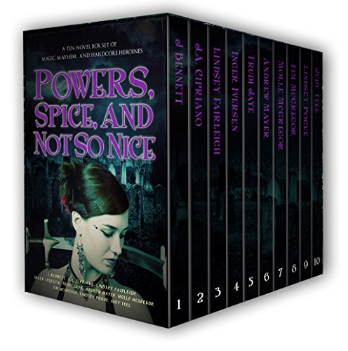 Powers, Spice, And Not So Nice: A Ten Novel Box Set Of Magic, Mayhem, And Awesome Heroines by Inger Iversen ebook deal