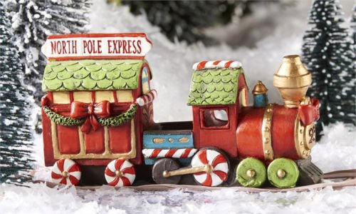 1-miniature-fairy-garden-north-pole-christmas-express-train-with-led-light-new
