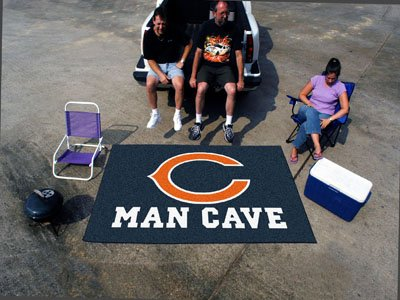 "Chicago Bears Man Cave UltiMat Rug 60""x96"" - FAN-14282"