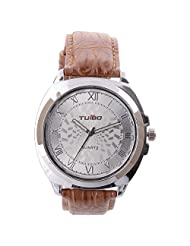 Turbo Youth Analogue Black Dial Men's Watch - R103-003S