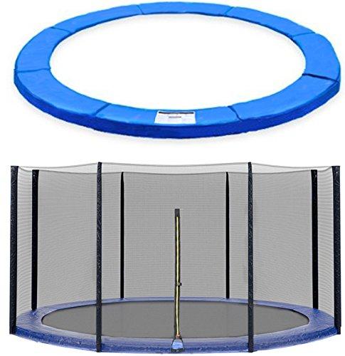 Sicherheitsnetz Ersatznetz Trampolinnetz für Trampolin 300 bis 305cm, 3-U Füßen-(ohne Stangen)