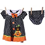 Pumpkin Bloomer Dress Set