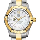 TAG HEUER watch:Villanova University TAG Heuer Watch - Women's Two-Tone Aquaracer with Diamond Dial at M.LaHart