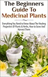 The Beginners Guide to Medicinal Plants: Everything You Need to Know About the Healing Properties of Plants & Herbs, How to Grow and Harvest Them (Medicinal ... Properties, Medicinal) (English Edition)