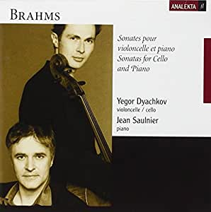 Brahms: Sonates pour violoncelle et piano / Sonatas for Piano and Cello