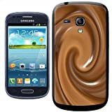 Fancy A Snuggle Warm Melted Hot Chocolate Swirls Clip-on Hard Back Cover for Samsung Galaxy S3 Mini i8190