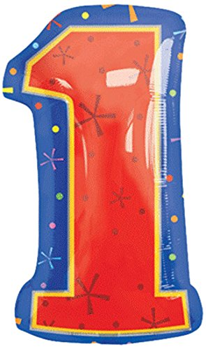 "Anagram International 1266601 Shape 1 Balloon Pack, 18"", Multicolor"