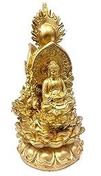 Big Trikaya Bronze Finished Tibet 3 Buddha Meditating Peace Harmony Statue Tri-kaya