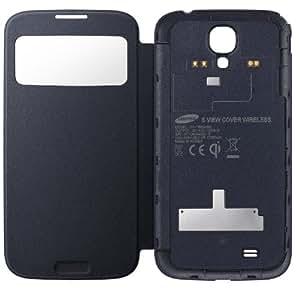 Samsung EF-TI950BBEGWW S-View Cover für Samsung Galaxy S4 schwarz