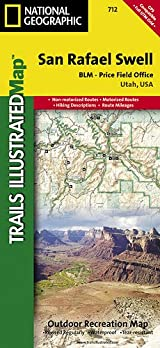 TI Map #712- San Rafael Swell