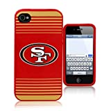 Forever Collectibles San Francisco 49ers Team Logo Silicone Apple iPhone 4 & 4S Case Reviews
