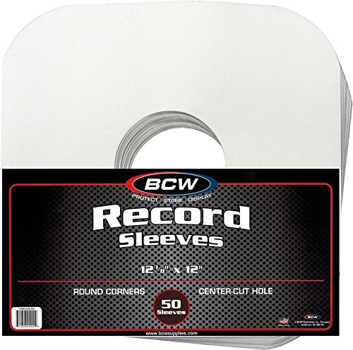 BCW Record Sleeves for 33