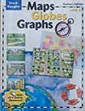 Maps, Globes, Graphs, Level A: Teacher\'s Guide (Steck-Vaughn Maps, Globes, Graphs)