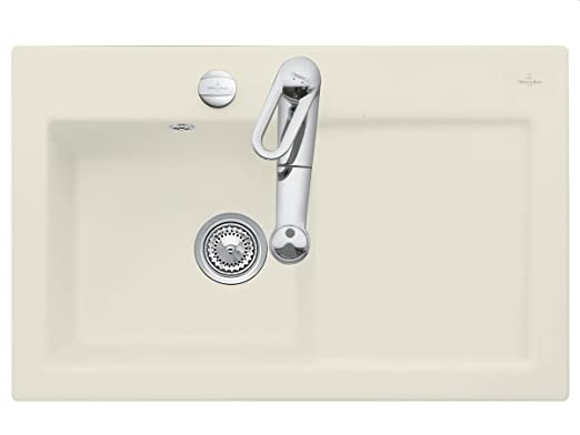 Villeroy & Boch Subway 45 Ivory Beige Sink Installation Ceramic Sink Edition