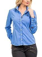 Signore Dei Mari Camisa Mujer Emilia (Azul Medio)