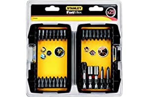 stanley fatmax 29 piece impact screwdriver bit set kitchen home. Black Bedroom Furniture Sets. Home Design Ideas