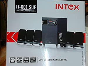 Intex IT 601 SUF Computer Multimedia Speaker 5.1 available at Amazon for Rs.3499