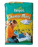 PampersEsteras De Cambio - 12 Pack (Paquete de 6)