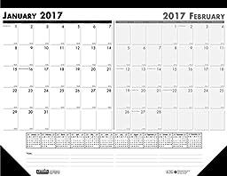 House of Doolittle 2017 Two-Month Desk Pad Calendar, 18.5 x 13\